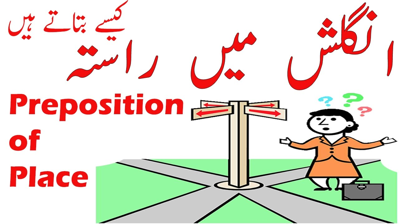 Asking Giving Directions in English Grammar Preposition of Place ...