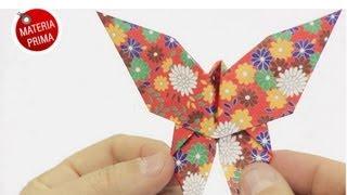 Mariposa de papel para el Día de la Madre - DIY Origami