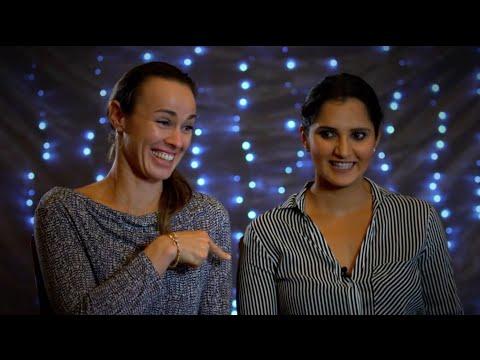 Martina Hingis & Sania Mirza Play 'Who Knows Who'