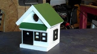 Making Fast and Easy Bird Houses