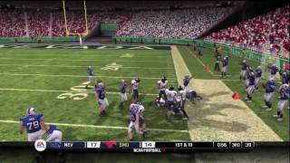 NCAA Football 10 - Hawaii Bowl - Nevada vs SMU (HD)