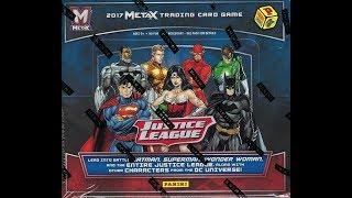 Box Busters: 2017 Panini Meta X Justice League Trading Card Game