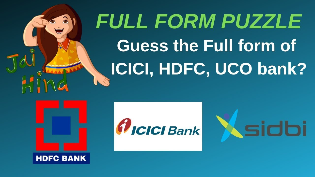 what is the full form of icici bank in india