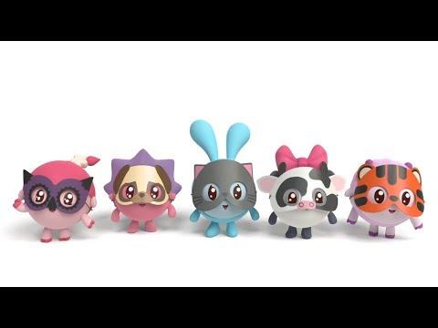 Малышарики - Сборник 23 «Животные» - Мультики для малышей все серии подряд