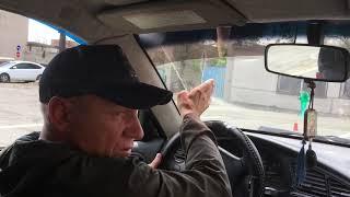 Занятие по вождению с инструктором. Автодром. МО ДОСААФ России г. Новотроицка Оренбургской области