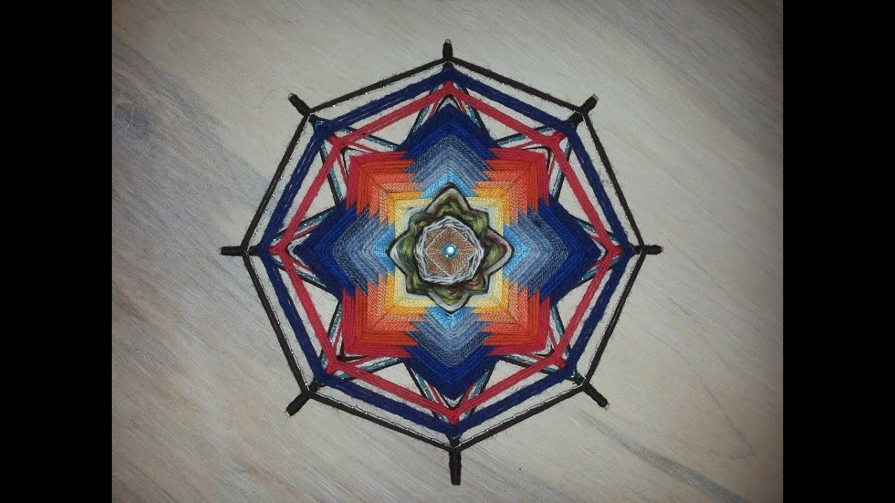 Плетение мандалы видео