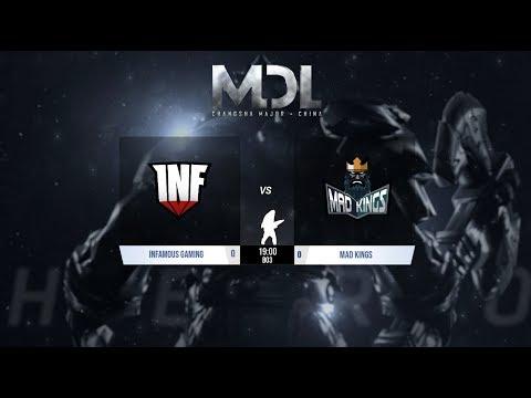 Dota 2 |  Infamous vs Mad Kings | MDL Changsha Major Sudamerica @Patrick