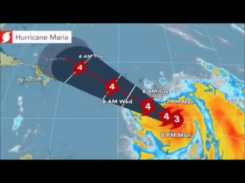 Hurricane Maria Model 2017 - Hurricane Maria Dominica, Puerto Rico, Dominican Republic