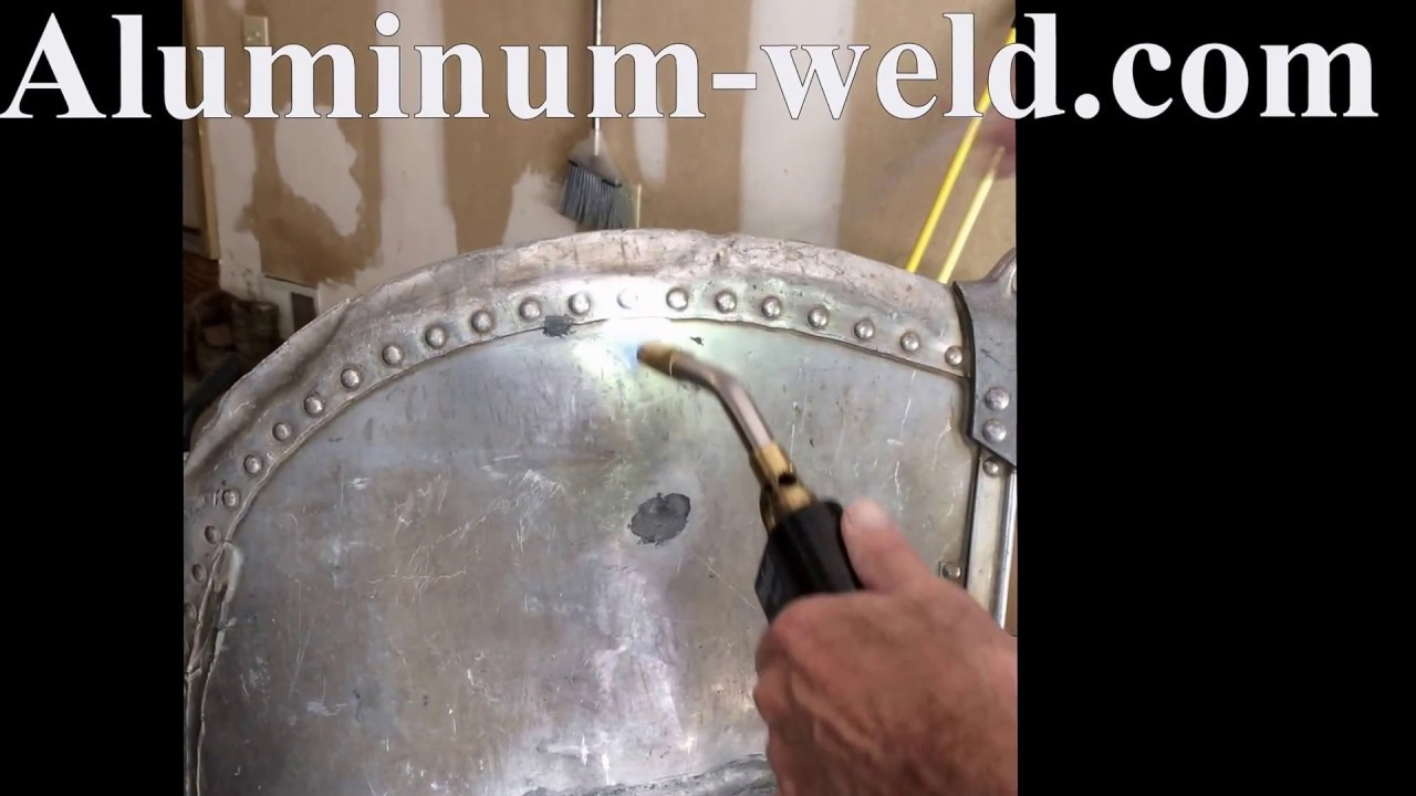 Aluminum Boat Rivet Repair With Hts 735 11 Youtube