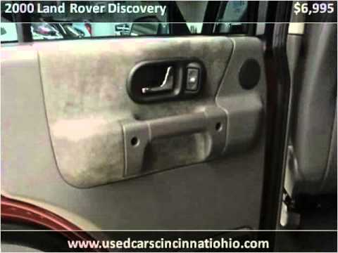 2000 Land Rover Discovery Used Cars Cincinnati OH