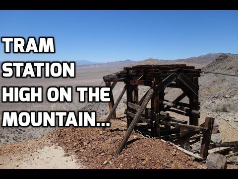 Abandoned Aerial Tramway & Mine In The Nevada Desert
