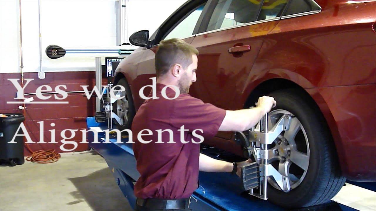 Tires Alignments Oil changes Local Auto Repair Shop