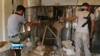 Download Video Pertempuran Pemberontak & Pemerintah Suriah Kembali Terjadi MP3 3GP MP4