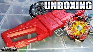 Unboxing B-58 Carabiner Grip [Beyblade Burst] [PT-Br]