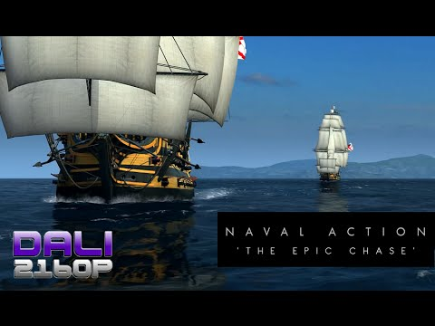 Naval Action 'The Epic Chase' PC 4K Gameplay 2160p