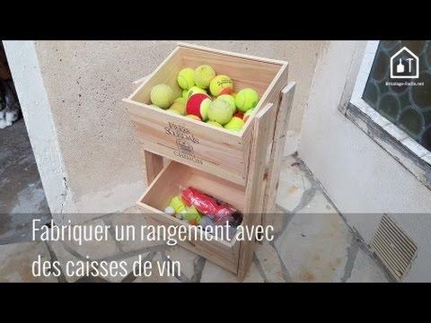 Tutoriel : Fabriquer un rangement avec des caisses en bois ...