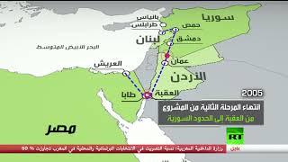 خط الغاز العربي من مصر إلى لبنان.. وتكلفته