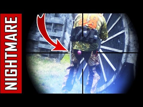 Slow Motion Paintball Shot - Magfed Paintball