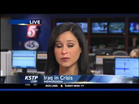 Sunni Militants Capture 2 Towns North of Baghdad