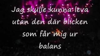 Lars Winnerbäck feat. Miss Li - Om du lämnade mig nu, lyrics
