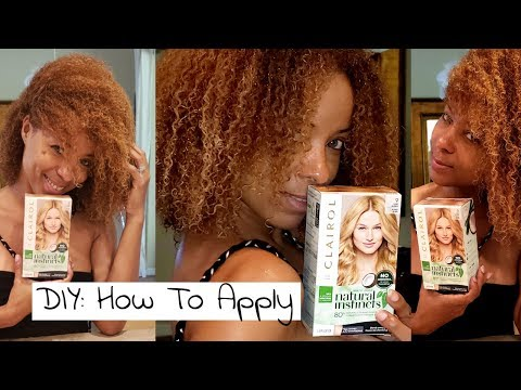 Clairol Natural Instincts Semi-Permanent Color: Step-By-Step Instructions DIY At Home  Instructions