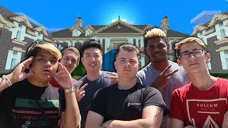 MINECRAFT HOUSE IN REAL LIFE TOUR! (MCPE SQUAD HOUSE)