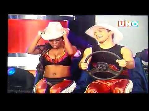 Tex mex Diana Nieves y Ritchard Viruez