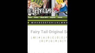 Comment telecharger les musique de fairy tail /fr