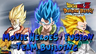 MOVIE HEROES / FUSION Category TEAM BUILDING Guide! (GOGETA BLUE) | Dragon Ball Z Dokkan Battle