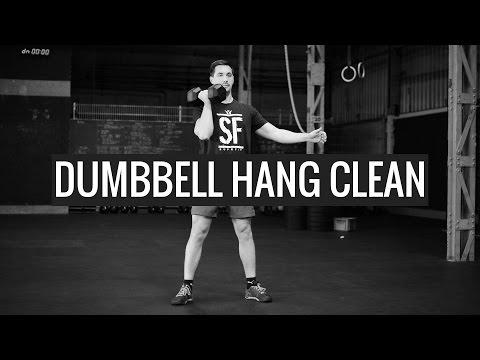 DUMBBELL HANG CLEAN