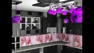 проект дизайн кухни выбор плитки и светильников(Кухня - фасады кухни. Хорошо смотрится кухня с фасадами на котором много различных деталей. Некоторые фасад..., 2014-11-16T00:03:09.000Z)