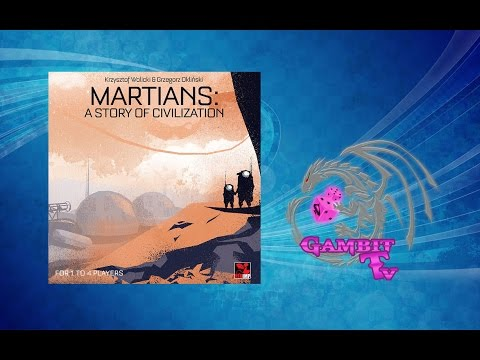Martians: A Story of Civilization - wideorecenzja
