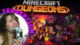 Welcome To Minecraft Dungeons! Let's Party!  Part 1