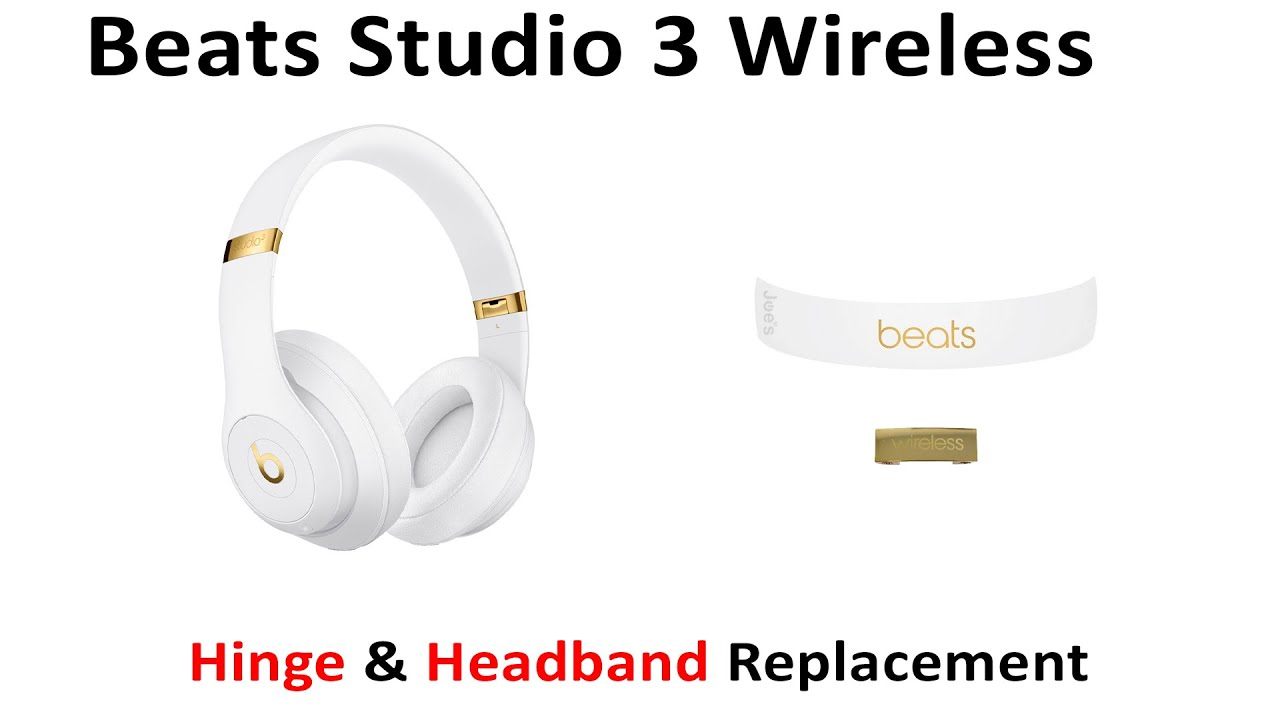 Tutorial How To Replace Repair Broken Hinge Headband Beats By Dre Studio 3 Wireless Youtube