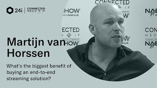 Martijn Van Horssen 24i at Connected Media IP 2019