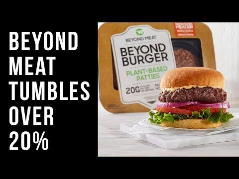 Beyond Meat DROPS Over 20% After JP Morgan Calls Stock Too Hot!