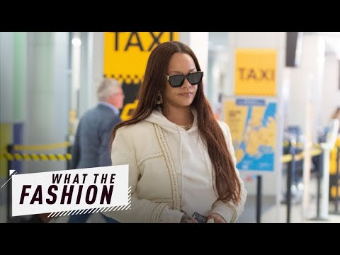 Rihanna's Airport Style Is Anything But Basic   What The Fashion   S2, Ep. 16   E! News