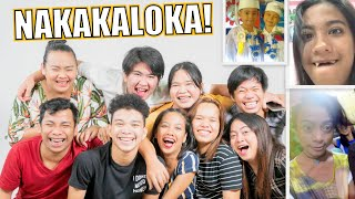REACTING TO OUR OLD PHOTOS (SOBRANG PAPAYAT PA!)