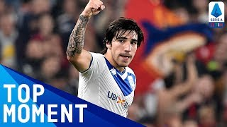The New Pirlo? Tonali Scores Outstanding Freekick! | Genoa 3-1 Brescia | Top Moment | Serie A