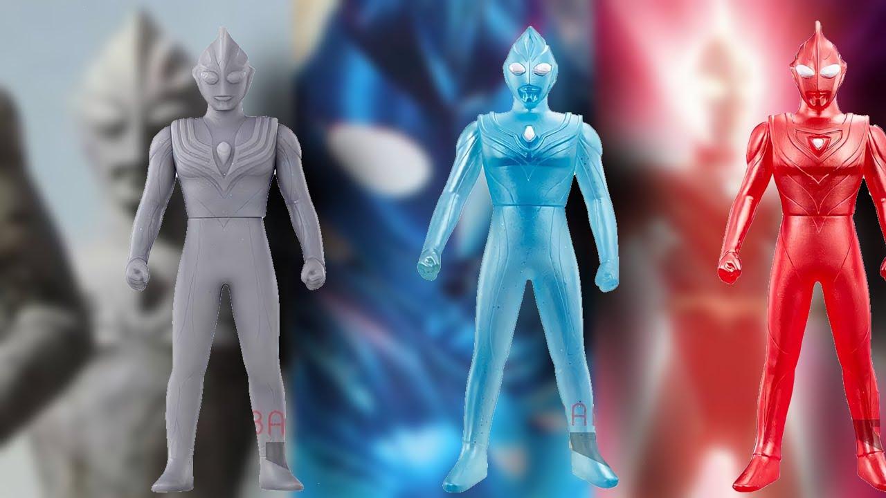 【速報】ティガ・ダイナ・ガイアの名場面を再現したソフビがナムコ限定で登場‼︎ Ultraman Tiga Dyna Gaia