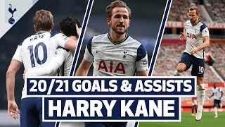 HARRY KANE GOALS & ASSISTS | Every single Premier League goal involvement so far this season