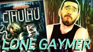 Lone Gaymer: Pandemic: Reign of Cthulhu solo play through
