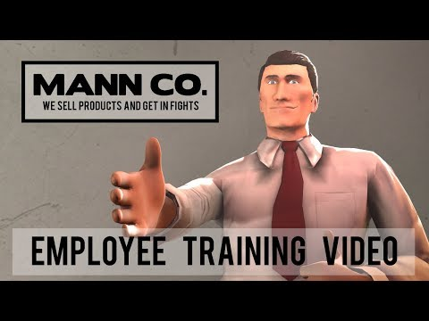 Mann Co.: Employee Training Video [Saxxy 2017]