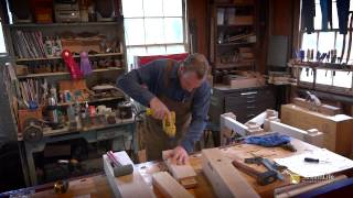 Draw Boring A Roubo Workbench Mortise And Tenon