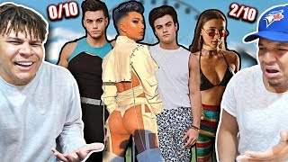 ROASTING YOUTUBERS COACHELLA OUTFITS!! (not sorry)