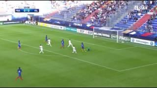 France u21 vs Iceland u21 1 : 0 ( Goal )