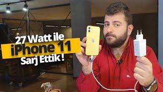 iPhone 11'i 27 Watt ile çoşturduk (Apple şaşkın👀)