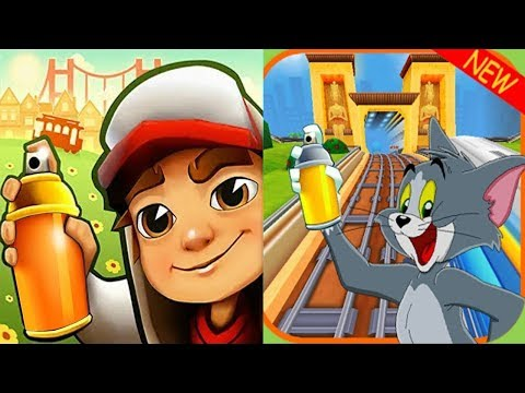 Subway Surfers DINO Vs Subway TOM And JERRY Run Gameplay HD