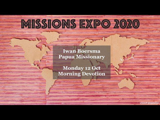Iwan Boersma - Papua Missionary