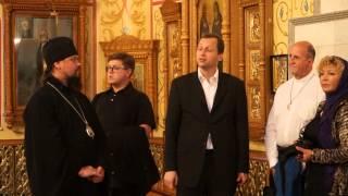 Erster Einblick in die Kathedrale in Birobidschan